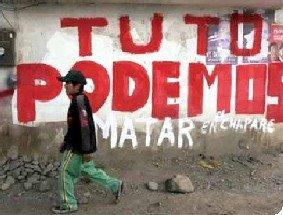 Nico. Bolivia. Podemos matar