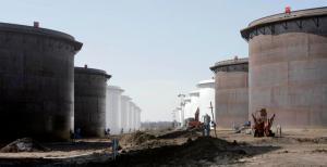 Oil Glut Full Tanks